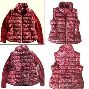 Desigual 2-in-1 Raised Velvet Jacket/Vest